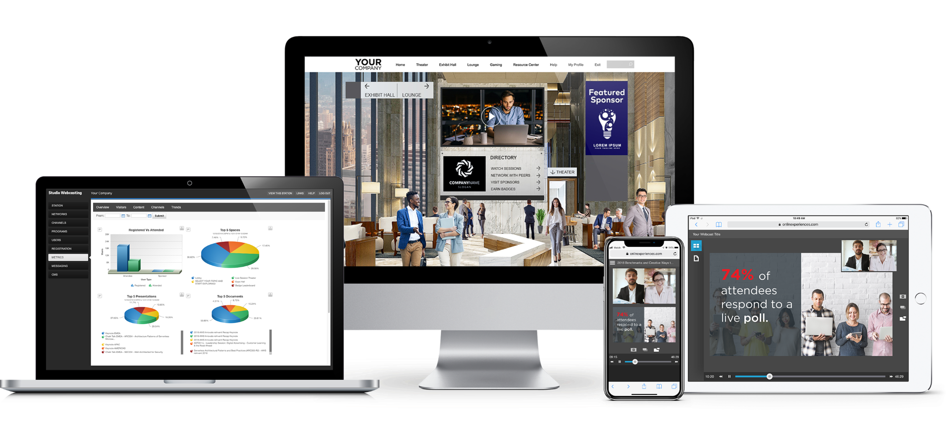 Host Your Next Digital Experience With Us